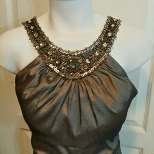 Jessica Howard Bronze Mermaid Gown Size 10…